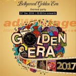 Caspia Hotel, Ahmedabad - Bollywood Golden Era New Year promotion