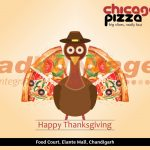 Chicago Pizza,Chandigarh - Thanksgiving greetings