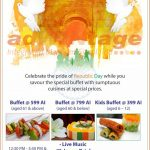 Holiday Inn Chandigarh - Republic Day Buffet