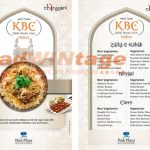 Park Plaza Shahdara - Kebab & Biryani Menu