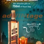 Pernod Ricard - Dussehra Offer promotion
