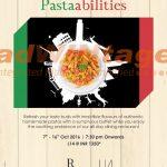 Renaissance Marriott, Lucknow - Pasta Festival