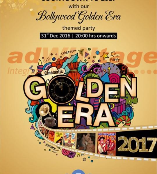 Caspia Hotel, Ahmedabad – Bollywood Golden Era New Year promotion