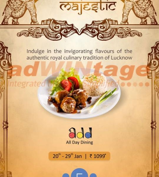 Caspia Hotel, Ahmedabad – Lucknowi Food Festival