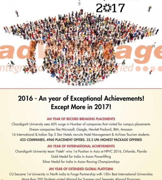 Chandigarh University – Promotional Ad