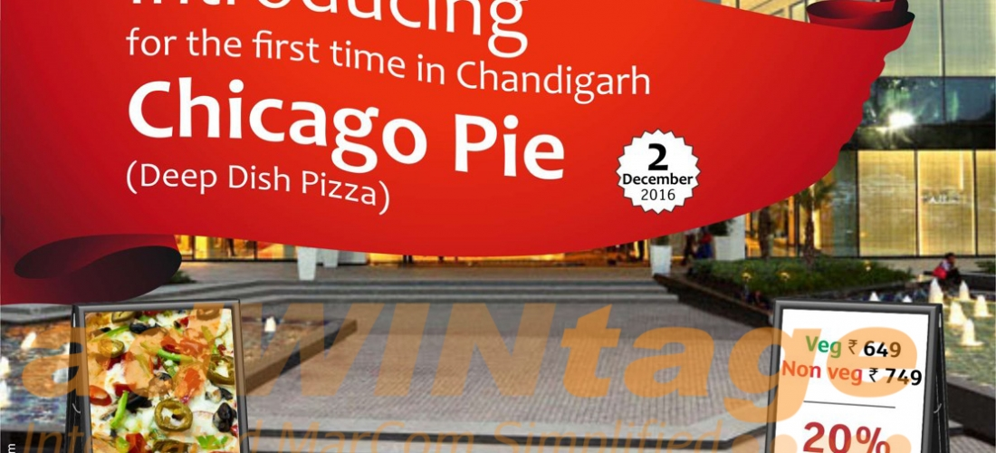 Chicago Pizza, Chandigarh – Introductory Offer
