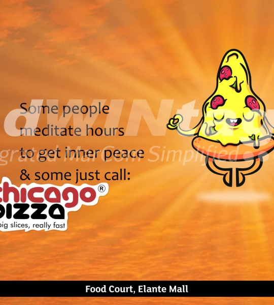 Chicago Pizza, Chandigarh – Outlet Promotion