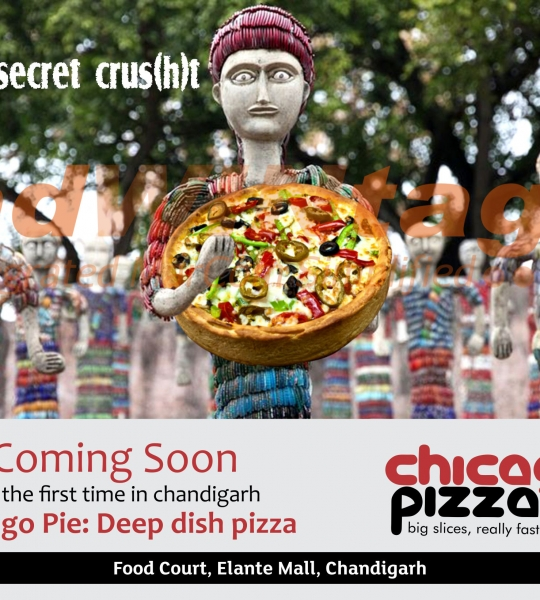 Chicago Pizza, Chandigarh – Pizza Promotion