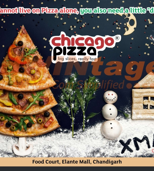 Chicago Pizza – Christmas Creatives