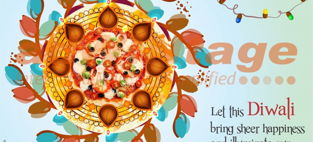 Chicago Pizza,Chandigarh – Diwali greetings