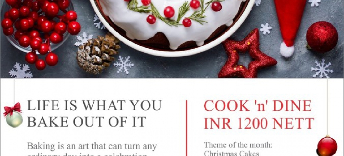Courtyard Marriott, Chennai – Christmas Cook & Dine