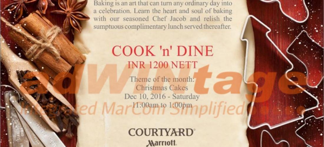 Courtyard marriott Lucknow- Cook & Dine