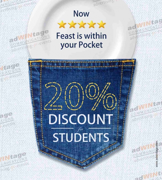 Discount ad.