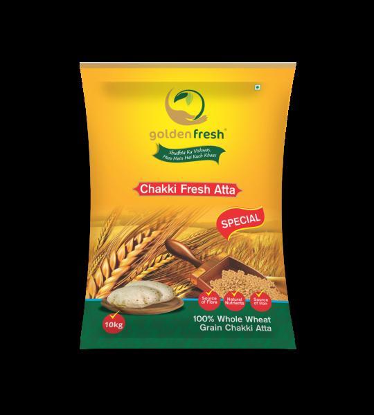 Golden Fresh-Atta Packaging