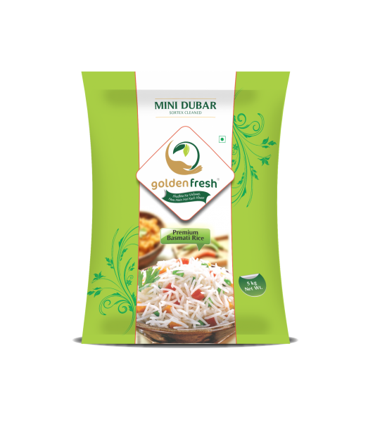Golden Fresh-Basmati Rice Packaging