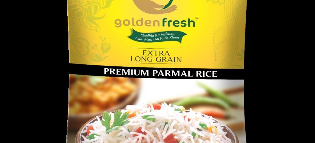 Golden Fresh-Parmal Rice Packaging