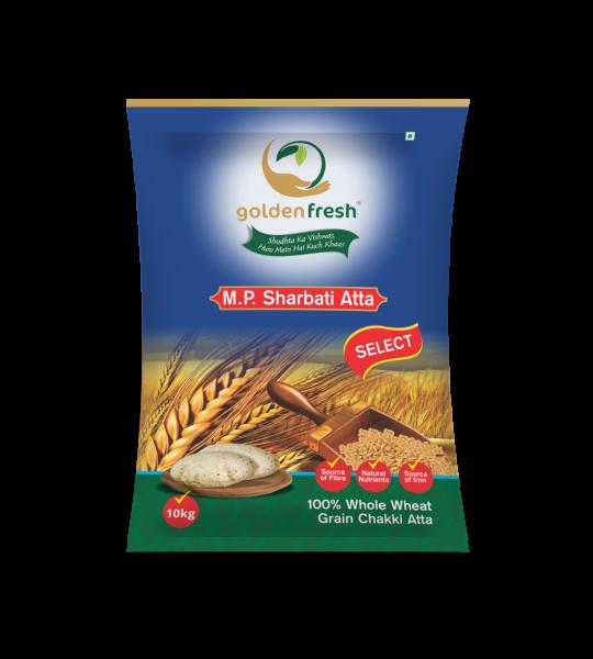 Golden Fresh-SHarbati Atta Packaging
