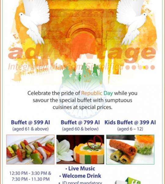 Holiday Inn Chandigarh – Republic Day Buffet