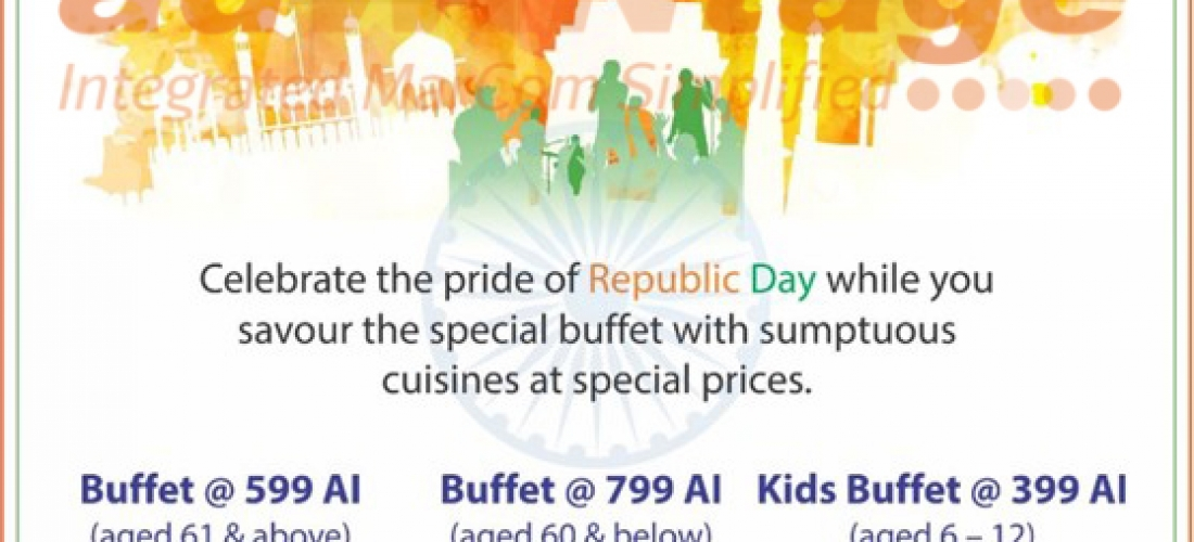 Holiday Inn Chandigarh – Republic Day Buffet