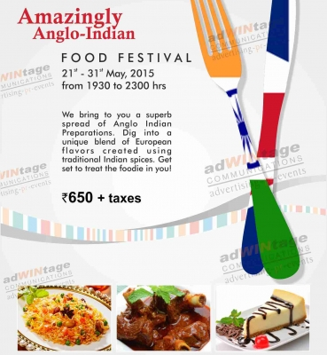 General creatives adwintage part 6 for Anglo indian cuisine