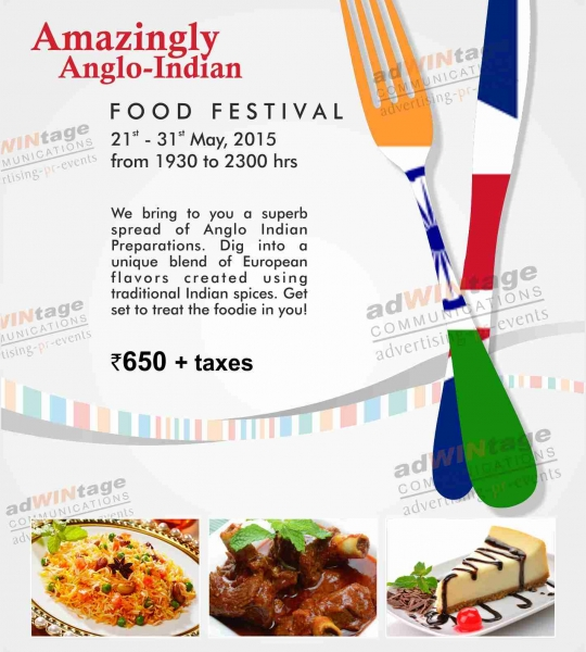 Hometel- Anglo-Indian Food