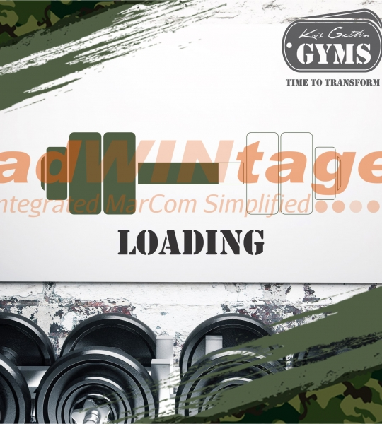 Kris Gethins Gym, Mohali – Opening Soon Creatives