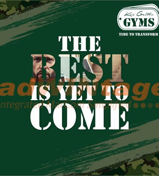 Kris Gethins Gym, Mohali – Promotional Creatives