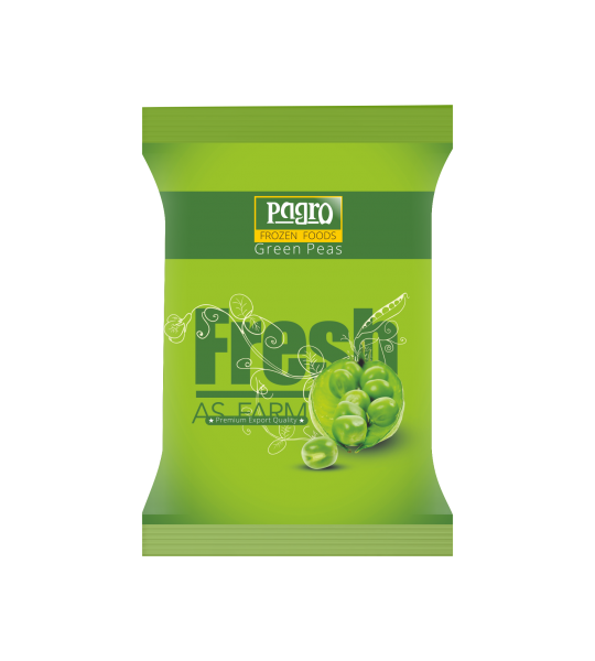 Pagro-Frozen Peas Packaging
