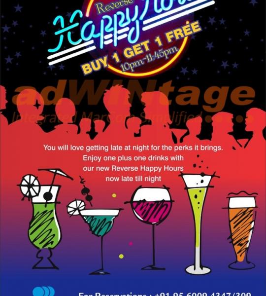 Park Plaza Faridabad – Happy Hours