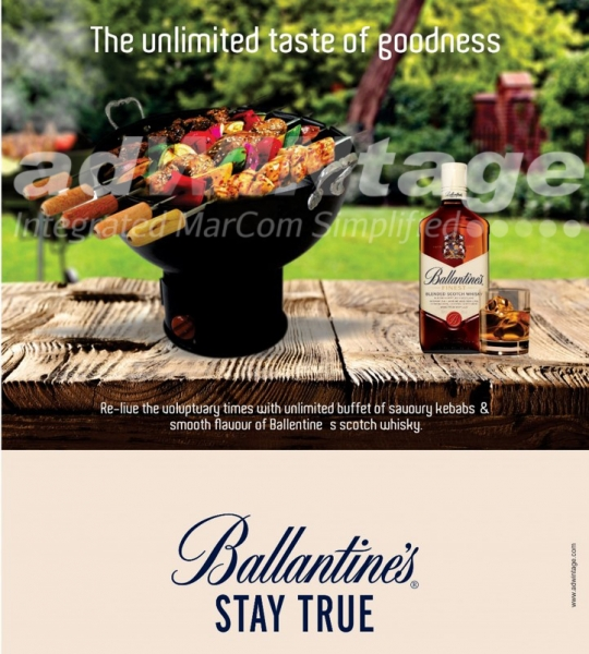 Pernod Ricard – Ballantine's With BBQ Promotion