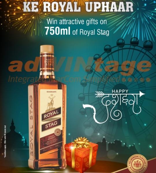 Pernod Ricard – Dussehra Offer promotion