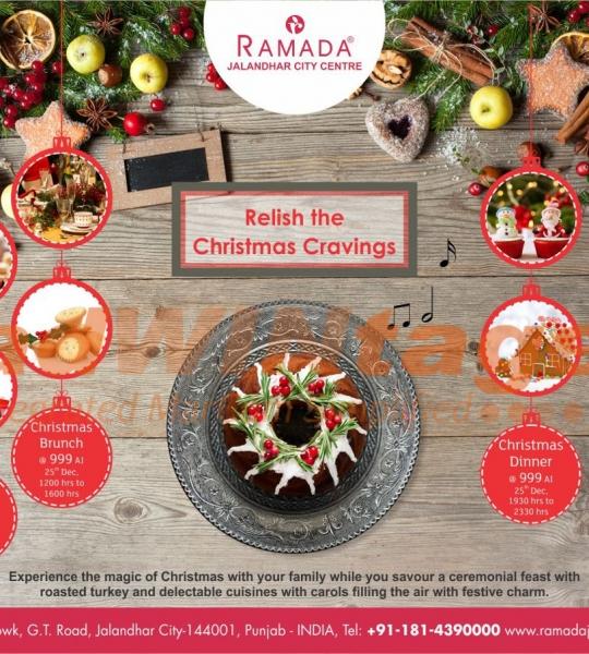 Ramada Jalandhar- Christmas creatives