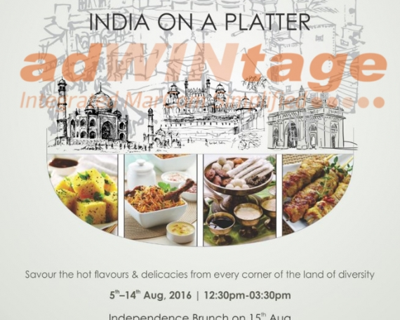 Renaissance Marriott – India on my Platter  promotion