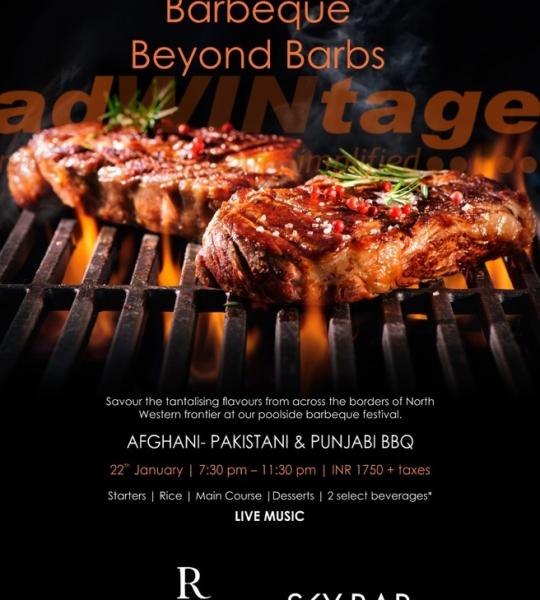 Renaissance Marriott, Lucknow – BBQ Festival