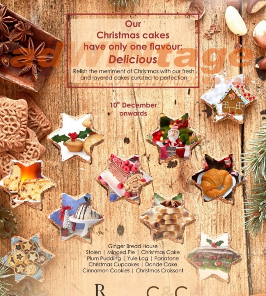 Renaissance Marriott, Lucknow – Christmas Cakes Outlet