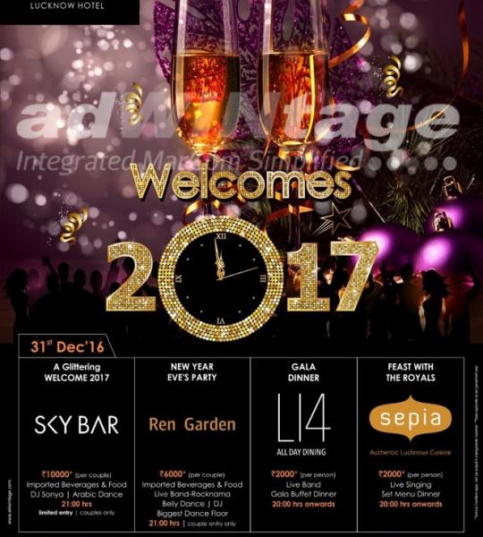 Renaissance Marriott, Lucknow – New Year Creatives